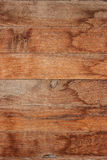 Wood plank with water stain. Closeup of brown wood plank with water stain use for background royalty free stock photos