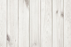 Wood plank white texture background Stock Images
