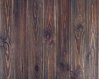 Wood plankabakgrund för gammal brun grunge Royaltyfria Bilder
