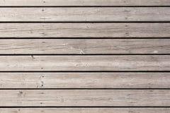 Wood plankabakgrund som är horisontal Royaltyfri Foto