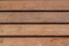 Wood plankabrunt Royaltyfria Bilder