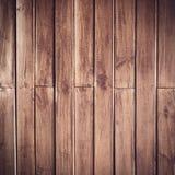 Wood plankabrunttextur Royaltyfri Bild