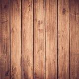 Wood plankabrunttextur Arkivbild