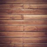 Wood plankabrunttextur Royaltyfri Fotografi