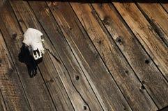 Wood plankasiding för tappning Royaltyfria Foton