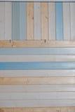 Wood plankatextur och bakgrund för gammal färg Abstrakt wood färgrik texturbakgrund Pastellfärgad wood väggtextur Royaltyfria Bilder