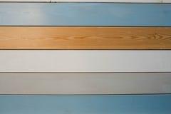 Wood plankatextur och bakgrund för gammal färg Abstrakt wood färgrik texturbakgrund Pastellfärgad wood väggtextur Arkivfoton