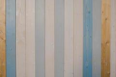 Wood plankatextur och bakgrund för gammal färg Abstrakt wood färgrik texturbakgrund Pastellfärgad wood väggtextur Fotografering för Bildbyråer