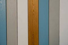 Wood plankatextur och bakgrund för gammal färg Abstrakt wood färgrik texturbakgrund Pastellfärgad wood väggtextur Royaltyfri Bild