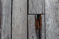 Wood plankatexturbakgrund Royaltyfria Bilder