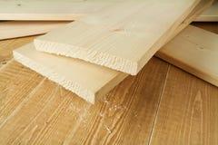wood plankor Fotografering för Bildbyråer
