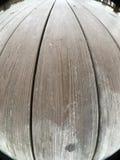 Wood plankor, gazebogolv Royaltyfri Bild
