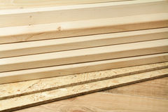 Wood planks Royalty Free Stock Image