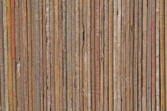 Wood Planks And Textures In A Neat Pile Stock Images