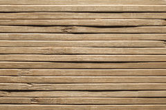 Wood Planks Background, Bamboo Wooden Plank Texture, Rough Wall Stock Photo