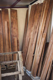 Wood Planks Drying Stock Images