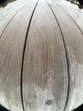 Wood planks, gazebo floor Royalty Free Stock Image
