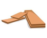Wood planks  illustration Stock Photo