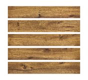 Wood planks isolated on white background. Brown wooden board. Clipping path. Wood planks isolated on white background. Brown wooden board royalty free stock photo