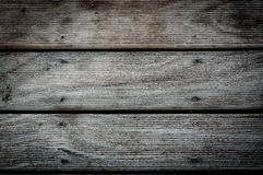 Wood planks marine outside flooring from tick texture background Stock Image