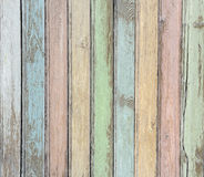 Wood planks pastel colored background Royalty Free Stock Image
