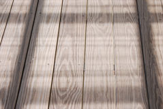 Wood Planks and Shadows Royalty Free Stock Photo