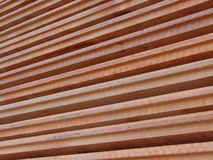 Wood planks stacked Stock Image