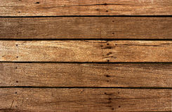 Wood planks texture background. Old wooden texture background in horizontal raws Royalty Free Stock Photos