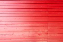 Wood planks texture. Timber red wall with copy space royalty free stock image