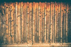 Wood Planks Wall Background royalty free stock image
