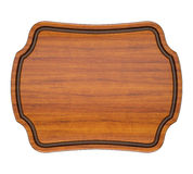 Wood Plaque Stock Photos