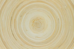 Wood Plate Seen From Above Royalty Free Stock Photos
