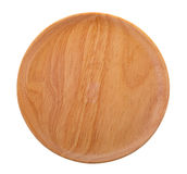 Wood plate Royalty Free Stock Photos
