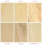 Wood plates(with international latin names) Royalty Free Stock Photography