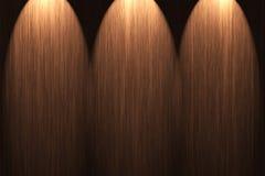 Wood plats Arkivfoton