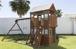 Wood Playground Royalty Free Stock Image