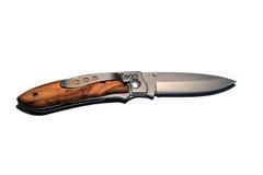 Wood Pocket Knife Stock Images