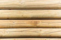 Wood Poles väggbakgrund Arkivfoto