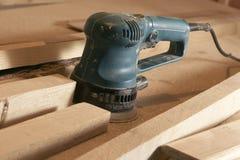 Wood polishing instrument Royalty Free Stock Images