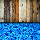 Wood and pool Royalty Free Stock Photo