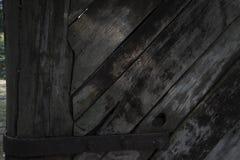 Wood port Arkivfoto