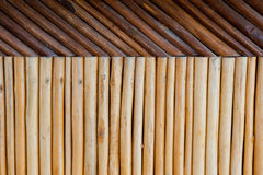 Wood post pattern Stock Image