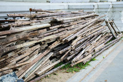 Wood preparation Royalty Free Stock Photos