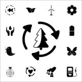 wood processing icon. Ecology icons universal set for web and mobile vector illustration