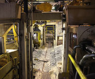Wood processing plant Stock Images