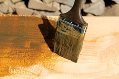 Wood protection Royalty Free Stock Photos