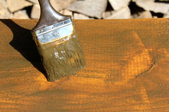 Wood protection Stock Photos