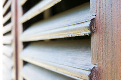 Wood protection panels Royalty Free Stock Photos