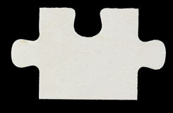 Wood Puzzle piece Royalty Free Stock Photos