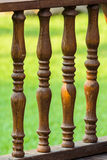 Wood railing Royalty Free Stock Photography